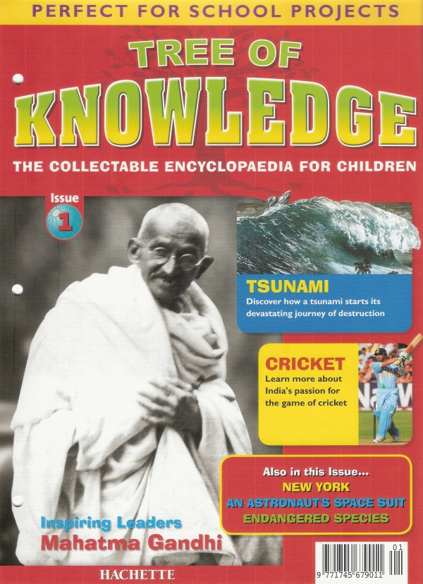 Tree of Knowledge - Hachette Part Work launched in India